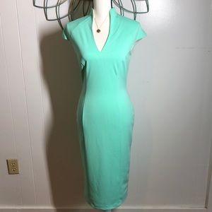 Alexa Admor Mint Green Dress